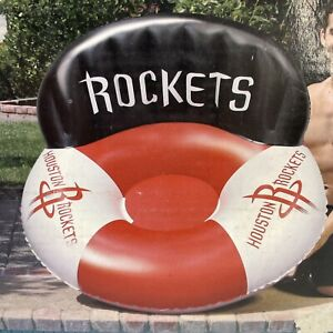 Poolmaster Houston Rockets NBA Luxury Drifter Pool Raft