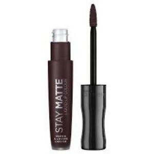 Rimmel Stay Matte Liquid Lip Lipstick, Full Cover DAMN HOT _ RITA ORA - cheapest