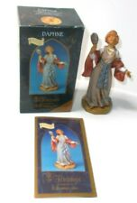 "Roman Fontanini 5"" Daphne Figure with Box and Story Card, Collectors Club"