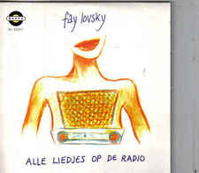 Fay Lovsky-Alle Liedjes Op De Radio cd single