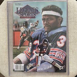 WALTER PAYTON LEGENDS Sports Memorabilia Magazine Cover #97  Volume 11 Number 4