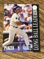 Vintage 1993 Donruss LBL #7 MIKE PIAZZA RC LA Dodgers NY Mets C HOF RARE NM/M SP