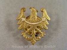 Unbekannte Abzeichen: Schlesischer Adler, an Schraubscheibe, H: 29 mm, 90717