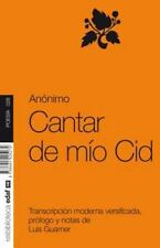 Cantar de Mio Cid (Poesia) (Spanish Edition)