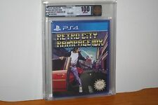 Retro City Rampage DX (PS4 Playstation 4) NEW SEALED, MINT PERFECT GOLD VGA 100!