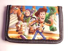 Toy Story Woody Kids Boys Filler TRI-FOLD Wallet Purse Coins Bag buzz