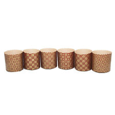 NEW Easter Baking Paper Pans Forms Russian Easter Bread/Cake, Kulich, Gold Brown