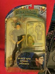 RARE Stargate SG1 Black Ops Daniel Jackson Figure