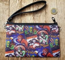 Horror Movie Purse - Bag Monster Frankenstein Vampire Zombie Werewolf