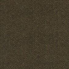 Maywood Studio Woolies Herringbone Flannel Dark Brown MASF1841-J2 100% Cotton