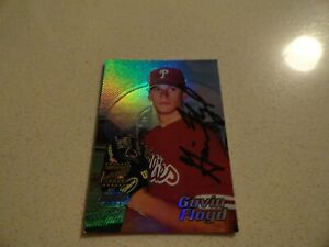 2002 Bowman's Best - Gavin Floyd / Philadelphia Phillies Rookie Autograph #130