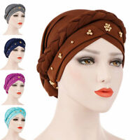 Women Hair Loss Beanies Head Wraps Scarf Cancer Chemo Cap Muslim Turban Hats Hat