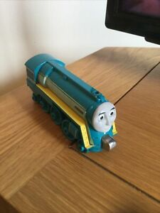 Connor Thomas And Friends Take N Play Magnetic Die Cast Train 2012 Mattel Blue