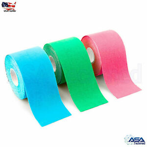 Athletic Muscle Support Sport Tape Physio Strapping Trainer Therapeutic 3pcs set