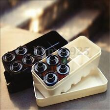 Waterproof 35mm Film Case Box for 10 rolls 135 Hard Plastic 2 Colors Black/White