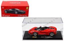 Bburago 1:43 Ferrari Signature Series Ferrari LaFerrari Aperta (Red) Diecast Car