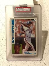1984 Topps Super #12 - DARRYL STRAWBERRY RC - PSA 7 NM * CENTERED * Rookie METS