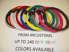 10 AUTOMOTIVE  WIRE 12 GAUGE  GXL WIRE TEN COLORS  10' EACH COLOR + CHOICES