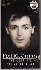 Paul McCartney The Complete Press To Play 3 CD &1 DVD Box Set