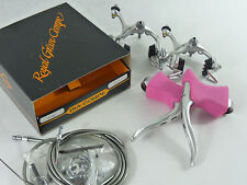 Dia Compe Brake Set Aero Gran Compe Pink Vintage Bike For Campagnolo NOS