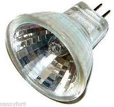 ONE MR11 with UV-stop cover lenses 5 WATT 12 VOLT Halogen Fiber Optic Bulb 2 PIN