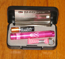 Maglite Solitaire Pink maglight mag-lite  Breast Cancer