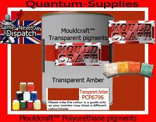 Transparente ámbar Pigmento 100g para poliéster Gelcoat / Resina Agua Transparente De Resina