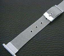 Rare NOS Adjustable 16mm 22mm Retro/ '50s SS Belt/Strap Watch Band