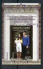 Samoa 2015 MNH Princess Charlotte Birth Royal Baby 1v S/S Prince Wiliam Kate