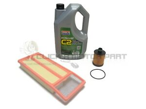 Peugeot Bipper 1.3 HDi 10-15 Oil And Air Filter & 5L 5w30 Synthetic Engine Oil