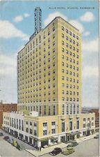1930's postcard -Allis Hotel, Wichita, Kansas