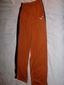 Texas Longhorns UT Football Heisman Ed. Zipper Warm-Up Pants Youth XL 18-20 used