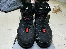 Nike originale da collezione 1991 Air Jordans vi Nero Taglia 9