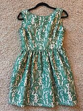 Zara Gorgeous Green Puffy Bubble Skirt Dress Gown Medium SOLD OUT