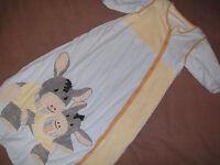 STERNTALER Schlafsack   Gr. 110 cm  Esel Emmi hellblau / gelb