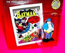 Ertl THE PENGUIN Die-Cast Metal Action Figure Mini BATMAN DC COMICS BOOK PURPLE