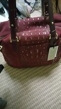 NWT Brahmin Delaney Tote in Cranberry Wilmington    $425