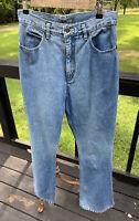 Vintage Lizwear 10M High Waisted Wash Denim Mom Jeans 14w 30 Inseam