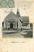 Carte CONAN L'église Quelques villageois