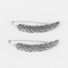 2pcs Feather Safety Brooch Pin for Kilt Scarf Shawl 90mm Length