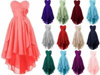 Sweetheart Short Bridesmaid Prom Dress Formal Wedding Evening Party Gown 6-20