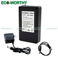 12 Volt 6800mAh Rechargeable Li-ion Battery Pack Charger for Digital Products