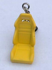 ~BRIDE~ Type R Bucket Racing Seat Keychain~YELLOW~ Auto-CarRacing-Autosport Gift