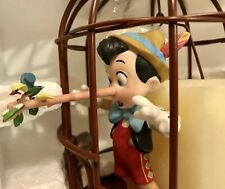 "WDCC Pinocchio in Cage ""I'll Never Lie Again"" Animator's Choice New in Box w/COA"