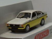 Wiking Opel Kadett C Coupe GT/E gelb-weiss - 0229 02 - 1:87