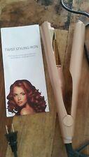 2 in 1 Flat Twist Styling Iron Hair Curler & Straightener