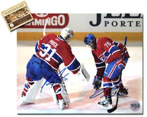 PK Subban & Carey Price Signed 8x10 Hockey Photo - WCA Hologram Certified COA