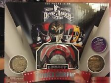 Mighty Morphin Power Rangers Legacy Power Morpher Red Ranger Edition 2 Coins