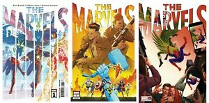 The Marvels #1 Cover A B Variant Set or 1:25 Options Alex Ross NM