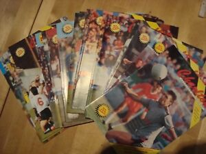 Full set of Charlton Athletic  home programmes 1989-90 - 22 in all